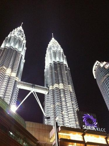 Petronas Twin Towers - Was the Tallest in the Worl - Have you ever been here ?  It is about 5 minutes drive from my place.