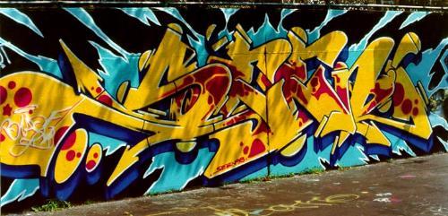 Seen  - One of the gratest graffiti wirters- legend!