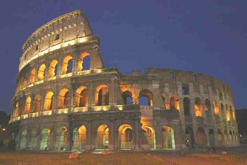 Roman Colosseum - Roman Colosseum in Italy