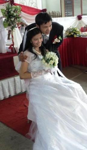 Honeymooners  - Bride and Groom