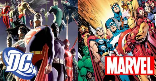 DC and Marvel - The Justice League vs The Avengers!