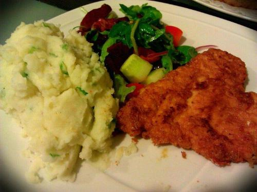 Mashed Potato Combi - Food Plate