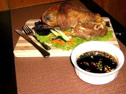 Crispy Pata - Unhealthy choice