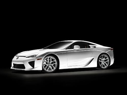 Lexus LFA - The super-car with most technology in it.