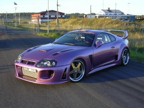 Toyota Supra - Legend in the drift history.