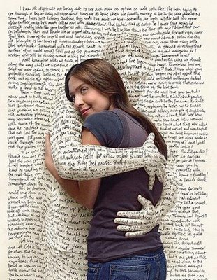 Books as friends - Love your books . Read as many books as you can. Books will lead you to a new world.
