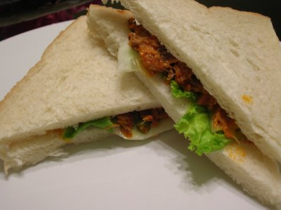 sardine sandwiches - yummy and delicious