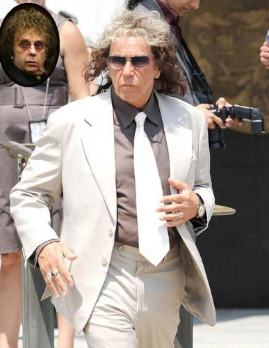 Al Pacino - Al Pacino as record produce Phil Spector. HBO is making a movie on Spector.