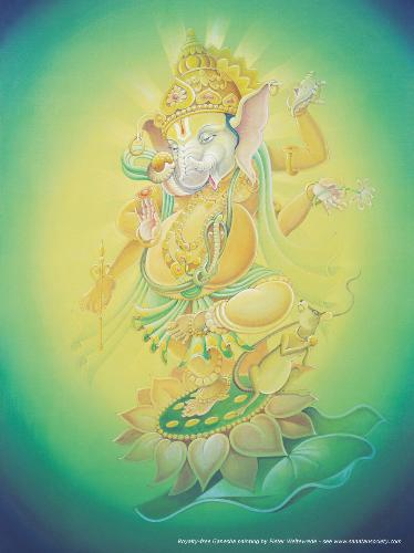 Ganesha - The god of my inspiration.