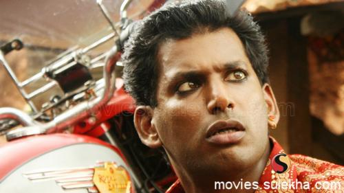 avan ivan - vishal just plays a different role in this movie