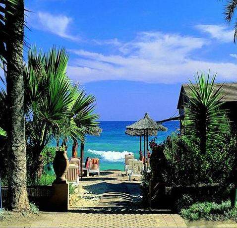 Marbella, Spain - Beautiful beach view in Marbella.