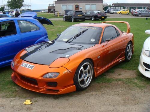 Mazda rx7 - This is alos a drif car legand.