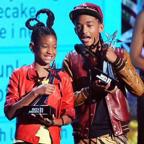 Willow and Jaden - The children of Will and Jada Smith.