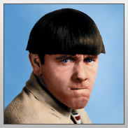 Moe Howard - Moe was one of the Three Stooges.