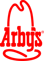 Arby's  - The logo of Arby's. Latest jinkle is 'Its real good food'.