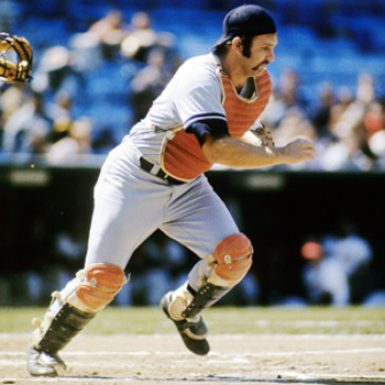Thurman Munson - Hard to believe he was killed in a plane crash over 39 years ago.