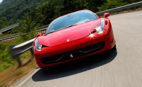 Ferrari 458 Italia - Really beautiful car.