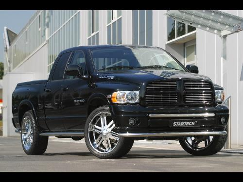 Dodge Ram - Fast pic-up truck.