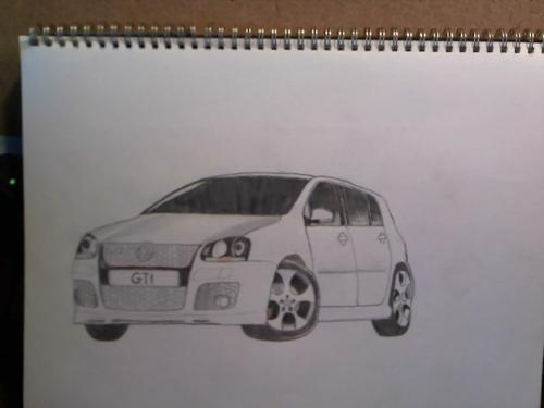 Car sketches - These are the sketches of cars which I have drawn like 3 years ago. I thought I should upload it here also besides my Facebook account. :)