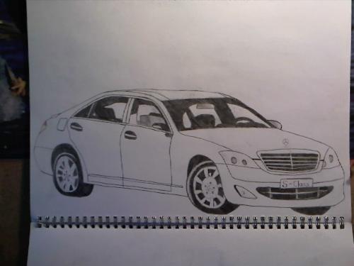 Car sketches - Fourth sketch!