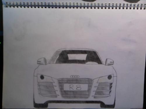 Car sketches - This one's my fifth but a little too boxy :P