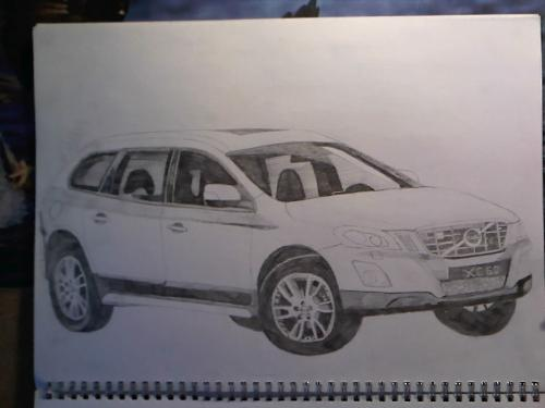 Car sketches - The best SUV that I've drawn!!!