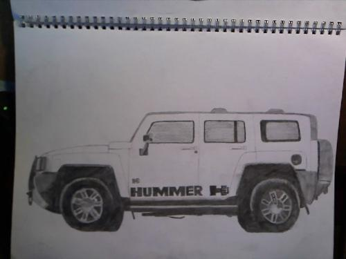 Car sketches - One of my favourite SUVs!!!