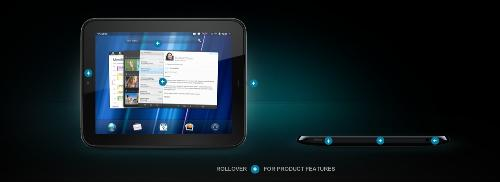 HP Touchpad - The latest gadget that is believed to give Apple iPad1/2 a run for the money.