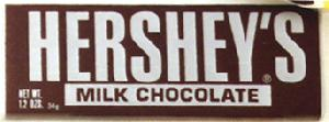 Chocolate Bars - Hershey's Original chocolate bar