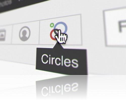 Circles - Circles, a feature of Google Plus.