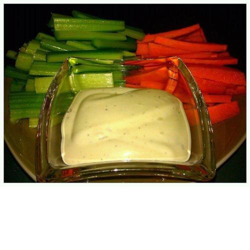Fresh Veggies - Veggies and Dip