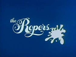 The Ropers - The opening logo for 'The Ropers'.