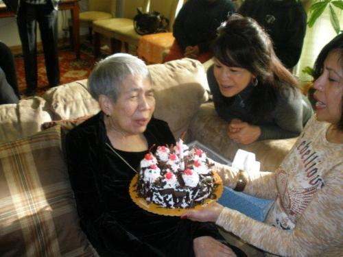 Old parent - Love of Senior Citizen