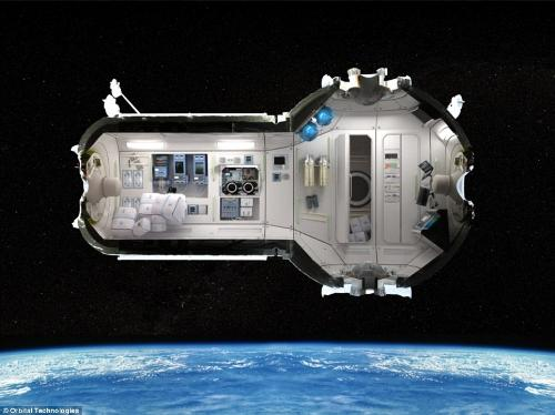 Floor Plan Of Space Hotel Room - A floor plan on what to expect from the International Space Station.