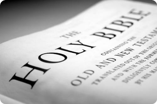the bible - the holy bible, old and new testaments