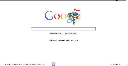 google layout - google layout for indonesian independence