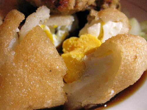 pempek - a special food from Palembang