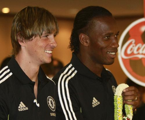 DROGBA and TORRES - some of the best striking force..........