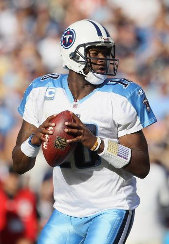 Vince Young - When Vince YOung was a Teenneesse Titan.