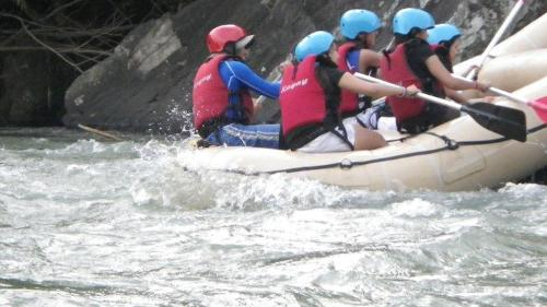 River rafting - Dangerous river rafting