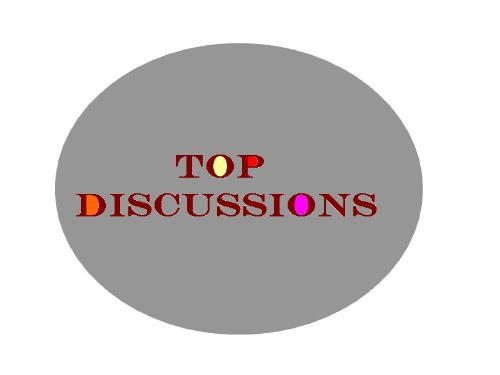 Top Discussions - My Lot's Section