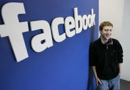 Mark earning from Facebbok. - A pic of Mark and his FaceBook !