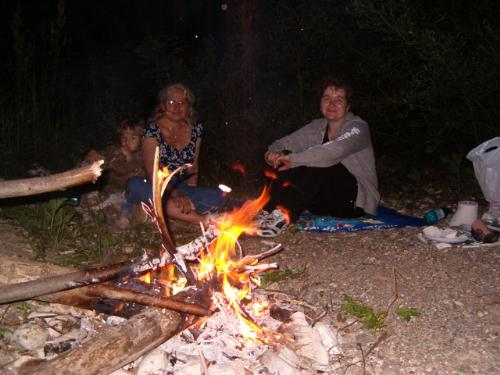 Camping in Cheile Nerei - Romania - in July 2011