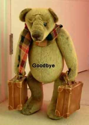 i hate to say goodbye - i hate to say goodbye- farewell okay fine