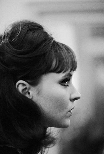 Anna Karina - How not to love her??? She was Godard's muse, the main face of Nouvelle Vague! So beautiful, funny and nonsense!