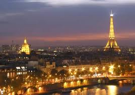 Paris at night - wouldn't that be beautiful for us to see together????