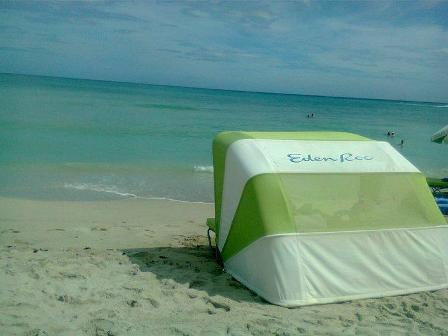 Clean Beach - Tent by the Shore