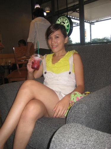 At Bo's coffee  - I'm chilling at bo's coffee, I just love being in there because I can totally relax..