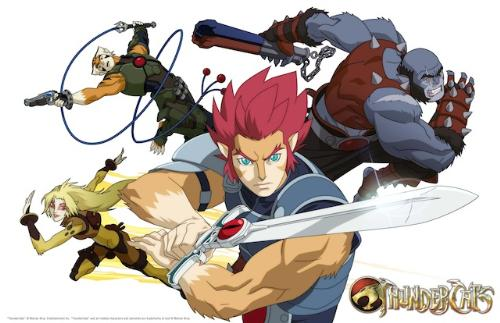Thundercats 2011 - We have Cheetara, Lion-O, Panthro and Tygra