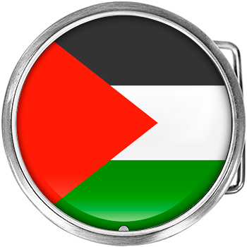 Palestine flag - This country is in the middle east